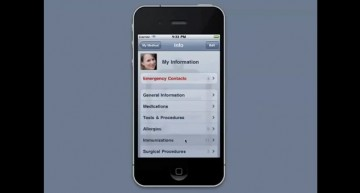 Keep Track of Your Medical Information (App)