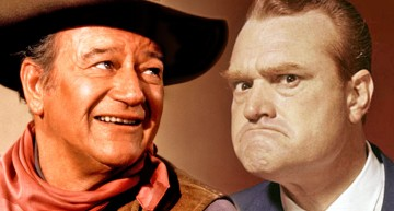 "Red Skelton ""Dukes"" It Out With John Wayne In Head To Head Comedy Skit"