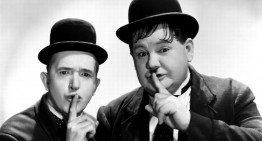 """Laurel and Hardy's """" Out West"""" Routine Gets A Jolt From AC/DC"""