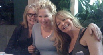 Goldie Hawn, Diane Keaton & Bette Midler's Movie Reunion