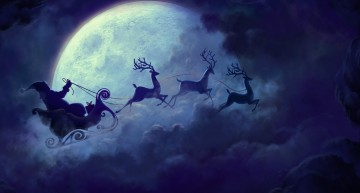 Rare Christmas Full Moon